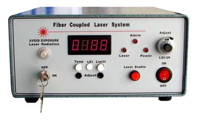 Fiber Coupling 975nm Infrared Diode Laser System, Front Panel