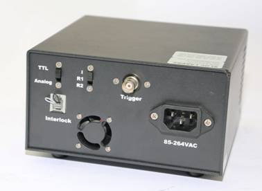 ADR-700A Power Supply, Rear Panel