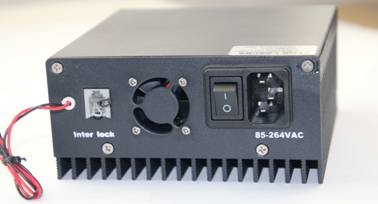 ADR-700D Power Supply, Rear Panel