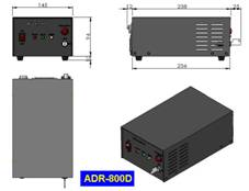 593.5nm Yellow DPSS Laser with Fiber Coupled, ADR-800D