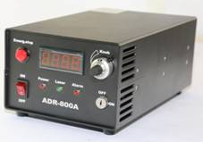 ADR-800A Power Supply, Front Panel