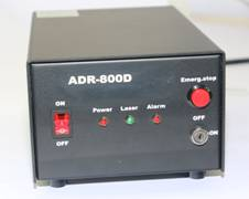 ADR-800D Power Supply, Front Panel