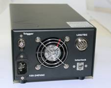 ADR-800D Power Supply, Rear Panel