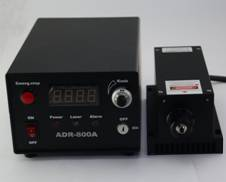 589nm Yellow DPSS Laser with Fiber Coupled, T6 Series